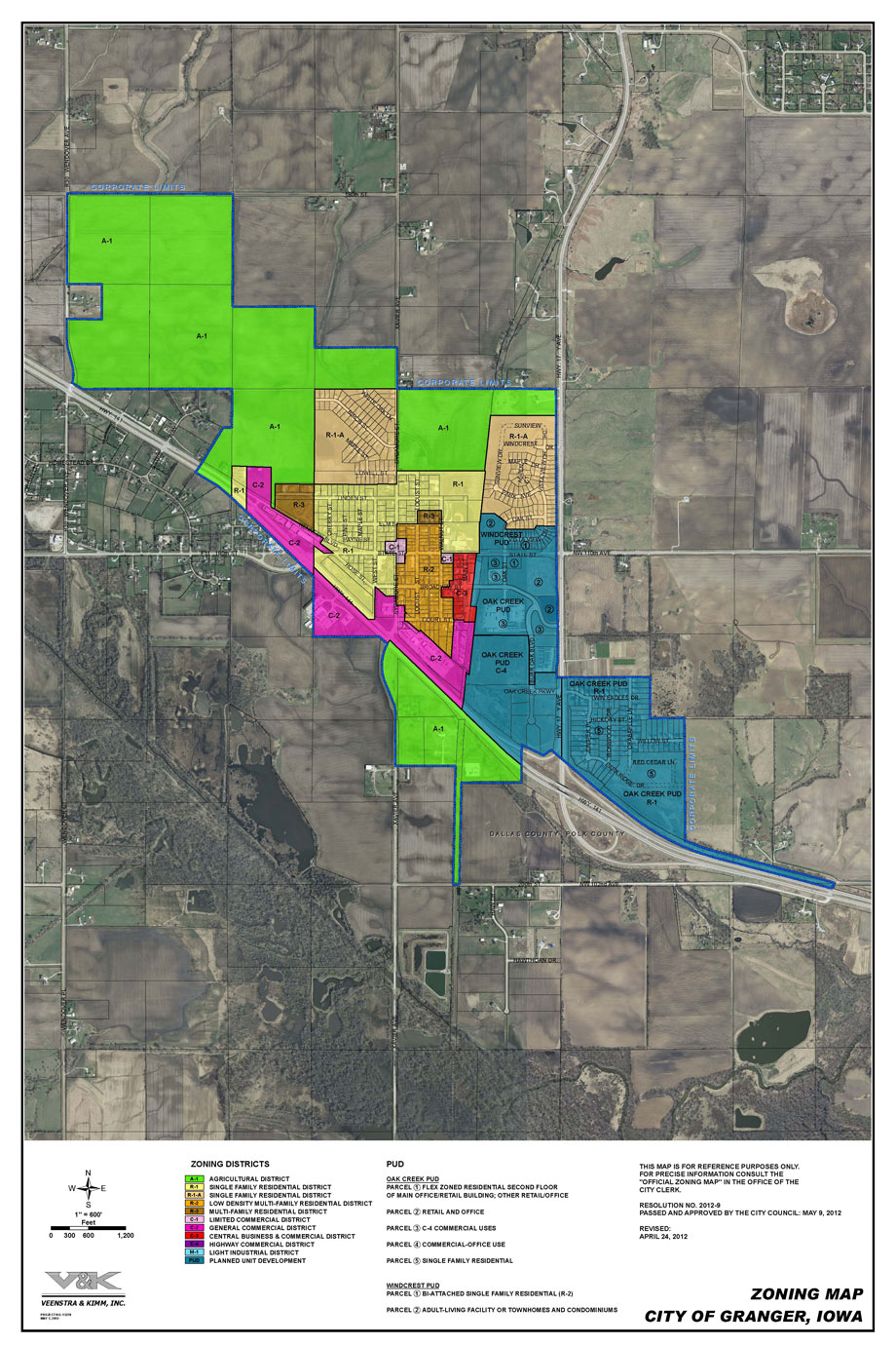 Zoning Map :: City of Granger