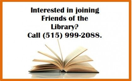 Join Friends of the Library