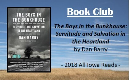 book club - boys in the bunkhouse