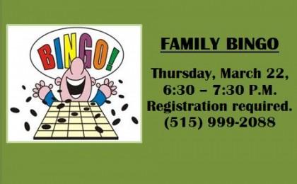 bingo march 22