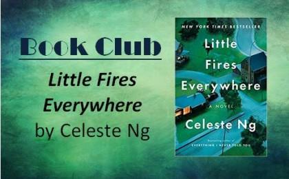 book club - march