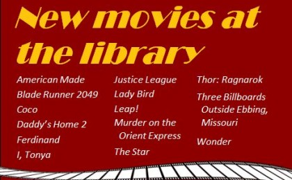 new movies 3-19