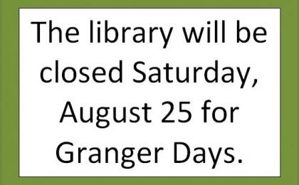 closed for granger days