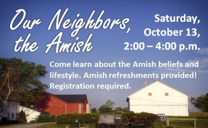 our neighbors, the amish