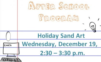 holiday sand art