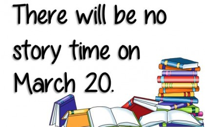 no story time march 20