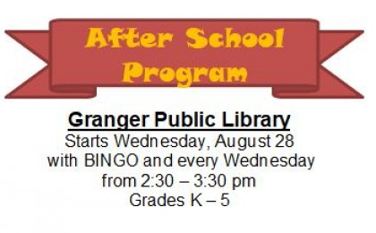 After school program Start date for website