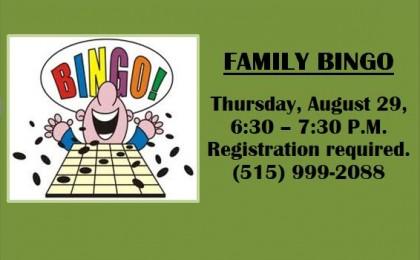 Bingo august 29